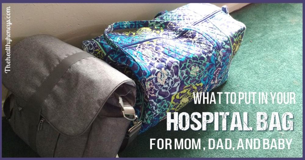 natural hospital bag