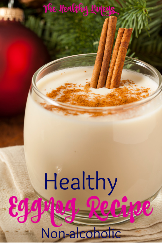 Healthy Eggnog Recipe (Non-alcoholic)