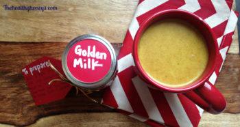 Golden Milk Tea Drink Mix