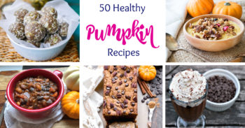 50 Healthy Pumpkin Recipes for Fall