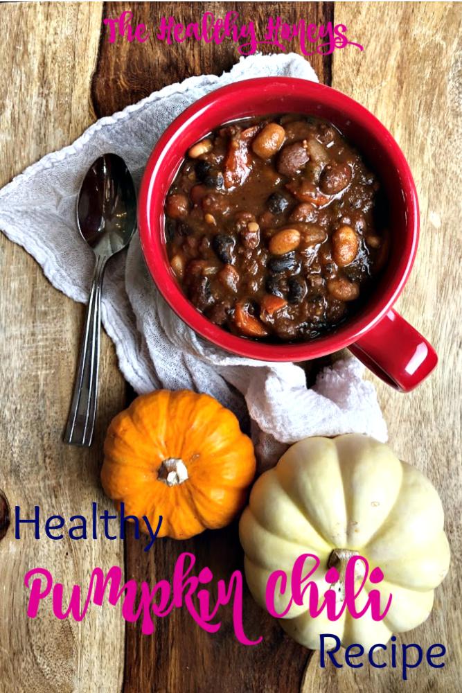 healthy pumpkin chili