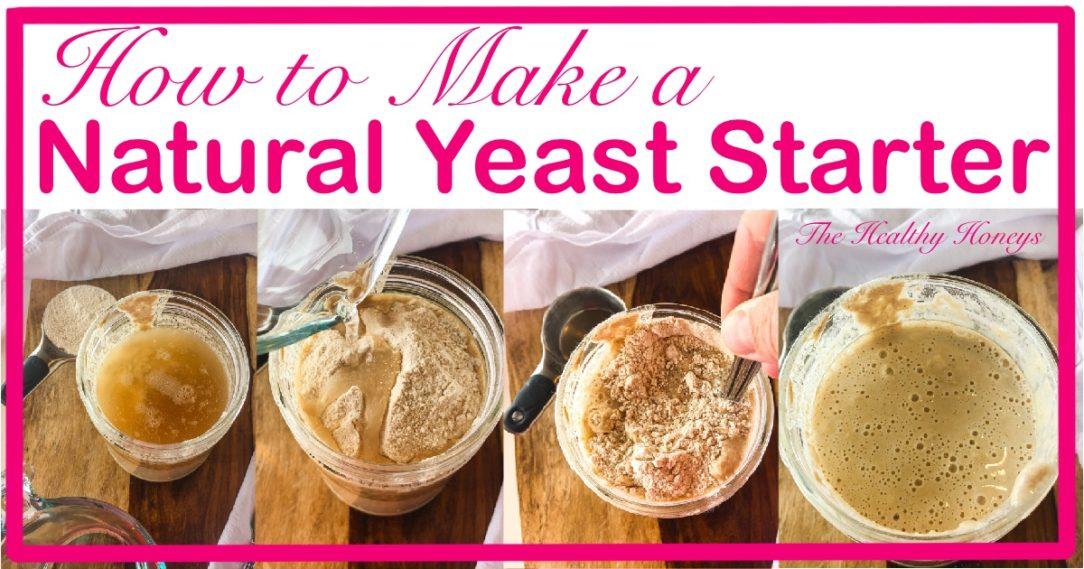 Natural yeast starter