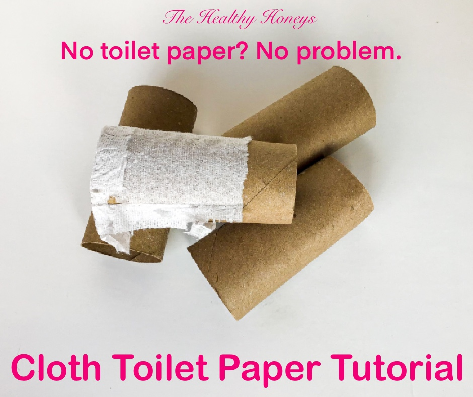 Cloth Toilet Paper Tutorial